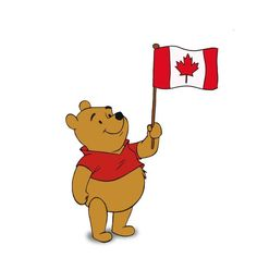 Without Canada, there would be no Winnie the Pooh. The Canadian soldier who donated him to the London zoo named him Winnie, after his hometown, Winnipeg. Canadian Things, I Am Canadian, Canadian History, Canadian Flags, Canadian Symbols, Canadian Dollar, Canadian Maple, Canadian Bacon, Christopher Milne