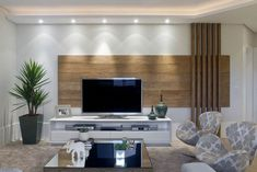 New Apartment Living Room Wall Tvs 51 Ideas Living Room Modern, Home Living Room, Apartment Living, Tv Cabinet Design, Tv Wall Design, Salas Home Theater, Tv Unit Decor, Tv Wall Decor, Lcd Panel Design