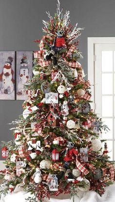 Mejores 79 Imagenes De Arbol Navideno En Pinterest En 2018 - Arboles-de-navidad-decorados