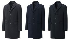 UNIQLO Wool/Cashmere Chesterfield | Best Affordable Outerwear 2014 on Dappered.com