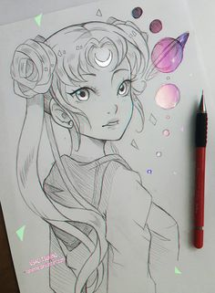 +Usagi and the Solar System+ by larienne on DeviantArt