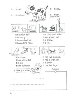 Learning English For Kids, English Worksheets For Kids, Kids English, English Reading, English Activities, Vocabulary Activities, English Lessons, Teaching English, Learn English