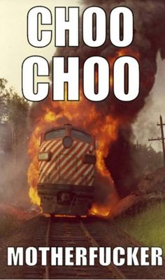 This little train could and fucking DID it! Funny Shit, Funny Cute, The Funny, Funny Jokes, Funny Stuff, Crazy Funny, Funny Things, Random Stuff, Anime Meme