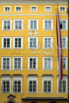Mozart's Birthplace, Salzburg - Don't miss it while attending the World Congress of #musictherapy 2014 in Austria #WCMT2014 http://wcmt2014.wordpress.com