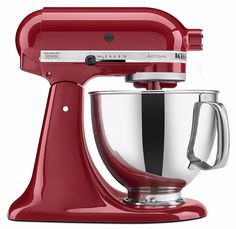 KitchenAid Stand Mixer With Pouring Shield 5 Quart Empire Red Artisan Tilt Head  in Home & Garden, Kitchen, Dining & Bar, Small Kitchen Appliances, Mixers (Countertop) | eBay Find out how you can actually acquire the best kitchen stand mixer for your kitchen at http://www.smallappliancesforkitchen.net