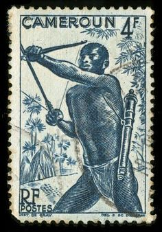Vintage Stamp from Cameroon. Travel to Cameroon with Cameroon DMC. A member of Gondwana DMCs - your network of boutique Destination Management Companies across the globe - www.gondwana-dmcs.net