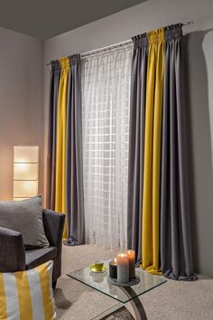 curtains combination
