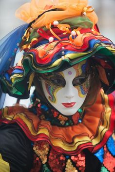 """""""Wearing colorful costume prove that you have a colorful mind"""""""