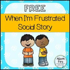 A social story mini-book on how to handle frustration in color and black & white. A great way to discuss feelings and appropriate ways to express them! Enjoy! I would appreciate it if you took the time to leave a rating and feedback for this free product. *************************************************************************** Check out these related products: Appropriate & Inappropriate Behaviors VIEW ALL SOCIAL SKILLS & SOCIAL STORIES PRODUCTS ********************...