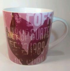 2006 Guatemala Starbucks Coffee Mug Pink 18 oz Collectible Drink Cup Made China  #Starbucks