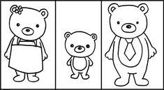 free Goldilocks and the Three Bears printable activity packet
