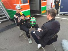 """Hulkenberg:""""Yes I've embraced the whole """"Hulk"""" nickname, so don't piss me off cause you know what happens to the Hulk when you piss him off!"""""""