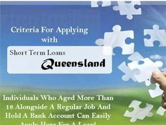 Get The Much Needed Funds In Emergency With Short Term Loans Queensland