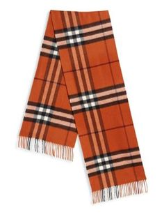burberry bags outlet stores h9cl  BURBERRY Fringed Trim Cashmere Scarf #burberry #scarf