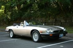 Tell me what is more elegant, more refined than a Jaguar XJS convertible - this one 1991.