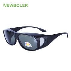 7701ee7be6a NEWBOLER Men Women Polarized Lense Fishing Sunglasses Cover For Myopia Glasses  Eyewear Sun Glasses Oculos De