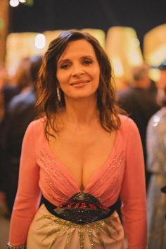 Juliette Binoche à la soirée Kering à Cannes