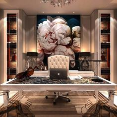 Enhance Your Senses With Luxury Home Decor Office Interior Design, Luxury Interior Design, Luxury Home Decor, Office Interiors, Home Interior, Luxury Homes, Art Interiors, Law Office Design, Home Office Space