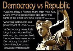 democracy vs republic
