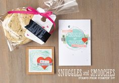 The new Snuggles and Smooches stamp set from Stampin' Up!