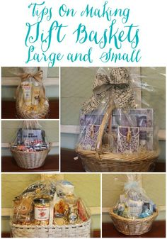 Miss Kopy Kat blog...how to make your own professional looking gift baskets any size.