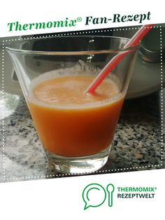 Carrot and banana smoothie from torstenettl. A Thermomix ® recipe from the drinks category www.de, the Thermomix ® community. Smoothie Detox, Banana Smoothie Bowl, Smoothie Bowl Vegan, Smoothie Recipes, Protein Smoothies, Paleo, Keto, Crunches, Drinking Water