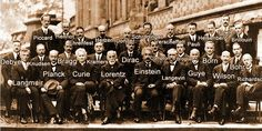 "Science ‏@scienmag - ""Possibly the most prestigious gathering of scientists ever - Solvay Conference, 1927."""