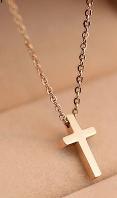 19mm x 11mm with 18 Rolo Chain Million Charms 14k White Gold Small//Mini Religious Communion Cross Charm Pendant