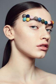 Linda Mehrens Makeup Academy Slutfoto   Makeup: Linnéa Hellbom   Model: Julia Bollvik    Photographer: Fredrik Augustsson    Hair: Annie Ankervik