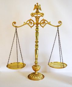 Vintage Scales of Justice in by on Etsy
