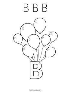 printable balloon stencil - Google Search
