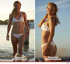 Caroline Wozniacki serves up SMOKIN' hot bod in #SISwimsuit issue!