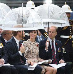 La Familia Real Inglesa en el 100 aniversario de la batalla de Somme