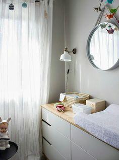 Guirnalda de borlas para la cuna/ A tassel garland for the baby bed: Penelope Home