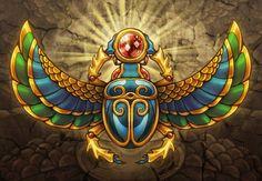 El significado del Escarabajo Egipcio