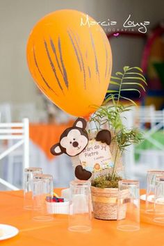 See 94 photos and 19 tips from 4328 visitors to Sumaré. Jungle Theme Birthday, Jungle Theme Parties, Safari Theme Party, Baby Boy 1st Birthday, Jungle Party, Baby Party, 1st Birthday Parties, Baby Shower Giraffe, Elephant Party