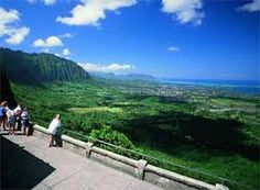 pali look out,oahu