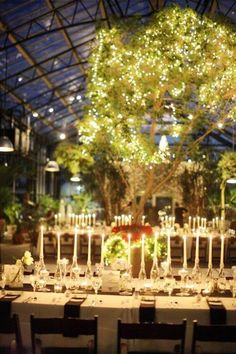 A Moonlit Wedding Reception at the Orchard Lake Country Club in ...