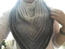 Šatky - Šatka Dúhenka - stredná, sivá - 10305999_ Knitted Hats, Crochet Top, Knitting, Tops, Women, Fashion, Moda, Tricot, Fashion Styles