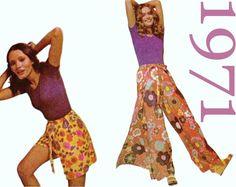 Wrap Pants Pattern Culottes Pattern Pant by ThePerfectPattern Hippie Pants, Boho Pants, Skirt Pants, Harem Pants, Pajama Pants, Wrap Pants, Pants Pattern, Palazzo Pants, New Shop