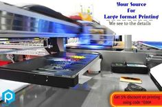 Large Format Printing – Print Hub Printing with a digital based image is always on demand. It brings out in detail about your product and impress more customers with the selling features. Get the best quality Large Format printing at an affordable price here @ Print Hub Sathiya Ramanan – 9600919690