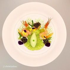 Iceland's Ultimate Luxury Dinner at Dill Restaurant Food Design, Plate Design, Food Decoration, Mets, Molecular Gastronomy, Everyday Food, Culinary Arts, Creative Food, Food Presentation