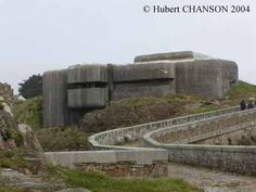 Pointe du Petit Minou, Goulet de Brest, France. Based in and above the Fort du Minou, the battery protected the entrance to the Goulet de Brest.