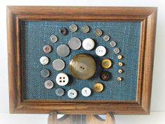 Hey, I found this really awesome Etsy listing at https://www.etsy.com/listing/227265911/button-art-vintage-button-artwork