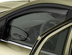 Ford Kuga - ClimAir Deflettore finestrino laterale per finestrini porte anteriori. Grigio scuro.