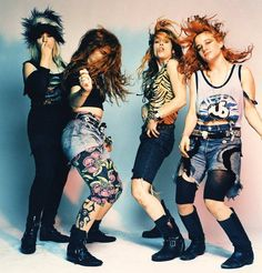 L7, another riot girl band form the 90s pushed peoples idea of what a rock band was and shocked them with onstage performances during which the lead singer threw her used tampon into the audience. Today some people are stil surprised to see a woman with an instrument. The riot girl genre brought a lot of women into the music scene, but there was still an absence of voices other than middle class straight white women.