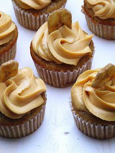 Made in les: BBC neboli božsky banánové cupcakes
