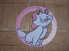 Marie from the Disney film Aristocats / by SuspendedAnimationNY, $20.00