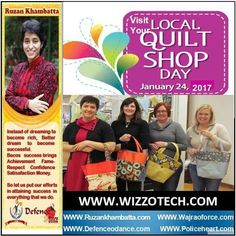 Quilt shops dont get anything like the recognition they deserve for the vital role they play in supplying quilts. Visit Your Local Quilt Shop Day aims to change all that by bringing people together in their local quilt shop to celebrate all things quilty. #youthicon #motivationalspeaker #inspirationalspeaker #mentor #personalitydevelopment #womenempowerment #womenentrepreneur #entrepreneur #ruzankhambatta #womenleaders #VisitYourLocalQuiltShopDay
