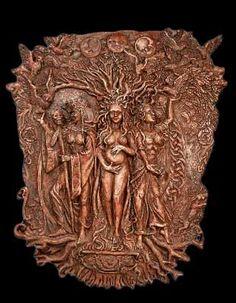 Triple Goddess Plaque
